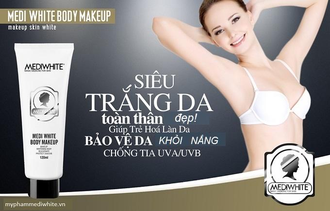www.123nhanh.com: Siêu Phẩm Dưỡng Trắng Makeup Toàn Thân Medi White
