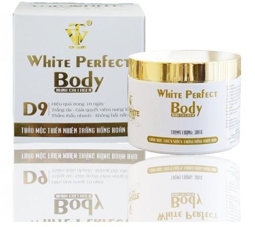 White Perfect Body D9 sẽ chobạn một làn da khác biệt